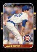 1987 Donruss #315 Jamie Moyer NM RC Rookie