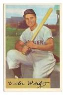 1954 Bowman #21 Vic Wertz Orioles