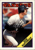 Don Mattingly 1988 Topps Baseball Card #300