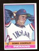 1976 Topps #98 Dennis Eckersley EX++ Excellent++ Rookie Card Cleveland Indians