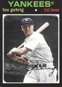Lou Gehrig 2012 Topps Archives Baseball Card #89