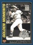 Roberto Clemente 2001 Topps Opening Day Golden Moments Baseball Card #162