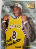 Kobe Bryant 1996-97 Fleer Metal Fresh Foundation Rookie Card #137